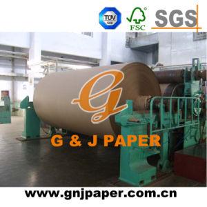 Logo Print 500kgs-1200kgs Top Quality Brown Craft/Kraft Paper pictures & photos