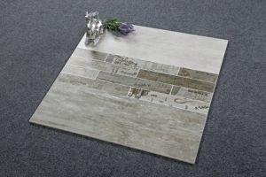 Foshan Non Slip Bathroom Polished Porcelain White Ceramic Floor Tile pictures & photos