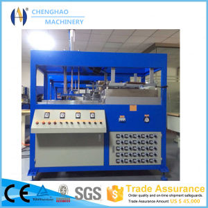 Manual Plastic Forming Machine for Fruit Tray/Lunch Box Machine for Sale pictures & photos