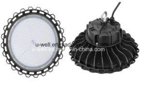 Industrial UFO Highbay Lamp Lighting Waterproof 130lm/W Sensor Dimmable 240W 200W 100W 150W LED High Bay Light pictures & photos