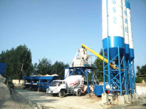 Yhzs50 Mobile and Portable Concrete Batching Plant pictures & photos