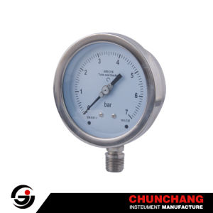 All Stainless Steel Pressure Gauge, Manometer pictures & photos