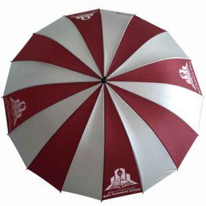 "29""X16k Anti UV Auto Open Golf Umbrella (GU030) pictures & photos"