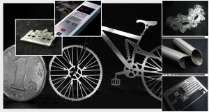 Automatic CNC CO2 Plastic Fiber Laser Cutting Machine for Metal pictures & photos