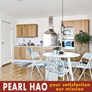 Modern Melamine Solid Wood Kitchen Cabinet Furniture pictures & photos