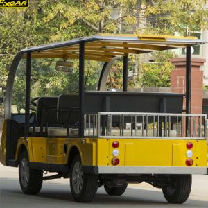 8 Seater Electric Sightseeing Bus with Luggage Basket pictures & photos