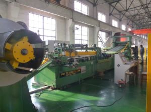 Automatic Ctl - Two Cutter and Two V Notch Cut to Length Line pictures & photos