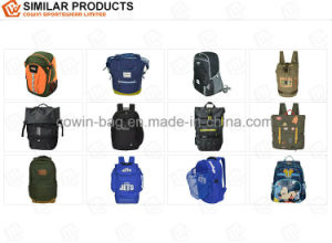 Drawstring Barrel Duffel Sport Backpack Rucksack with Shoulder & Handle Strap pictures & photos