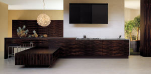 Quality Guaranteed Real Wood Home Bar pictures & photos