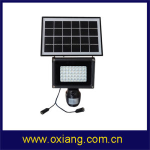 Solar PIR Sensor Light Camera Support 2 Way Charge pictures & photos