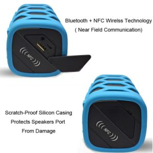 Silicone Casing Waterproof Bluetooth Speaker pictures & photos