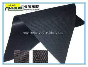 Fabric Impression Rubber Sheet, Rubber Floor Mat pictures & photos