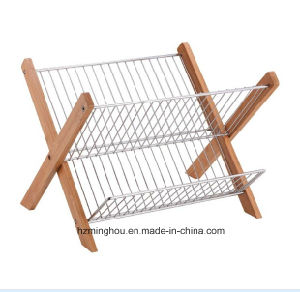 Professional Wire Disk Metal Shelf Drying Display Rack pictures & photos