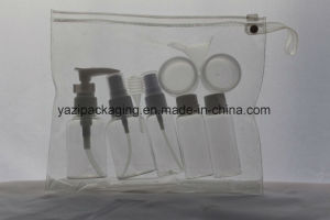9PCS Pet Bottle Set with PVC Bag for Flight Travelling Use pictures & photos