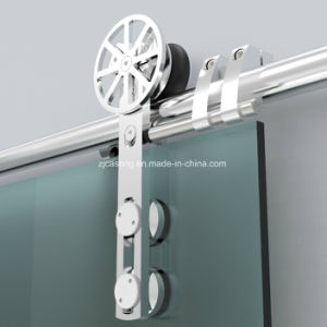 Slide Rail Stainless Steel Bathroom Glass Door Hardware Accessories pictures & photos