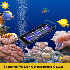 Sunrise and Sunset Dimmable WiFi Control Coral Reef Dimmable LED Aquarium Light pictures & photos