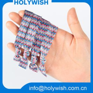 Custom Fabric Printing Polyester Elastic Party Band for Headdress pictures & photos