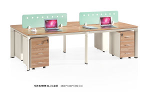 Modern Business Metal Staff Working Desk for Office pictures & photos