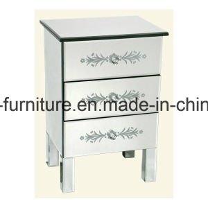 Home & Living Furniture Mirrored Bedside Table Mirrored End Table Mirrored Side Table pictures & photos
