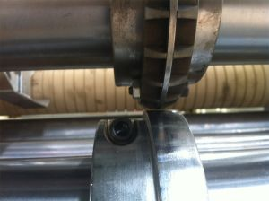 Qisheng Carton Tooth-Type Prepressing Wheel pictures & photos