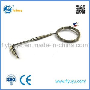 L Shape Egt K Thermocouple Gas Temperature Sensor with Exposed Tip pictures & photos