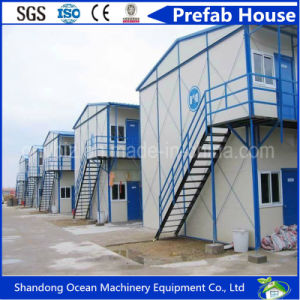 Light Steel Modular Prefabricated House of Steel Structure and Sandwich Panel with Good Quality and Cheap Price pictures & photos