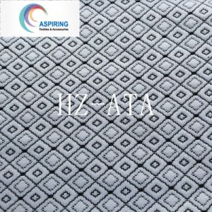 100%Polyester Knitted Jacquard Fabric pictures & photos