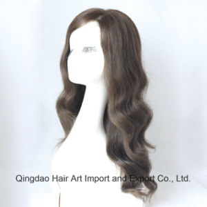 Virgin Brazilian Human Hair Lace Wig with Silk Top pictures & photos