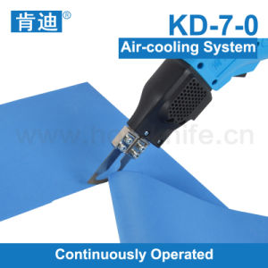 Air-Cooling Hot Knife Fabric Cutter
