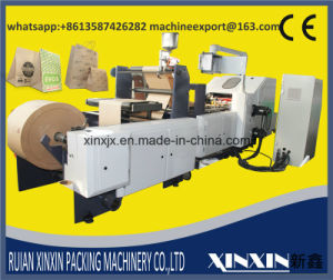 Double Layer Paper with Double Unwinder Auto Tension Control Paper Bag Making Machine pictures & photos