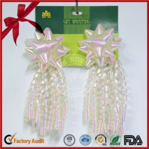 Curing Ribbon Star Bow Holiday Wrapping Decoration pictures & photos