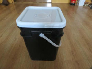 HDPE/PP Square Plastic Packaging Bucket 20L