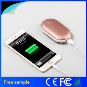 Double-Sided Heating Power Bank Hand Warmer pictures & photos
