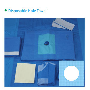Disposable Hole Towel with High Quality pictures & photos