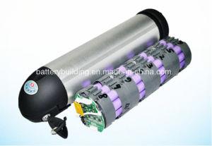 48V 10ah Bottle Type Lithium Battery E-Bike Battery Lithium Bottle Rechargeable Battery pictures & photos