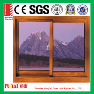 6mm Double Tempered Glass Aluminum Window for Sale pictures & photos