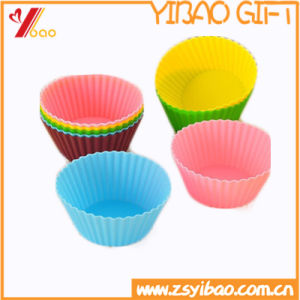 Colorful FDA Bear High Tempareture Easy Clean Silicone Cake Mould (YB-HR-132) pictures & photos