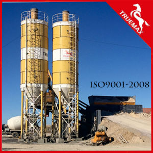 Stable Quality Cbp60m Mobile Wet Mix Concrete Batching Plant