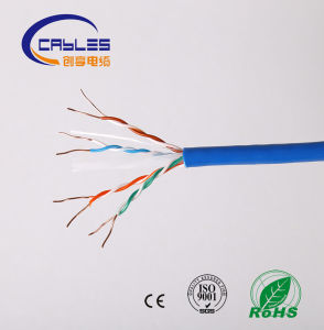 CAT6 Outdoor Gel Filled Cable Black Direct Burial pictures & photos