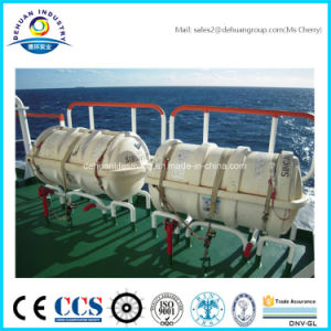 Davit-Lauching Type Inflatable Life Raft with 15, 16, 20, 25 Person pictures & photos