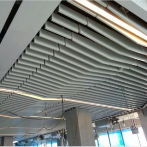Custom Made False Metal Ceiling with Suspension System for Interior Use pictures & photos