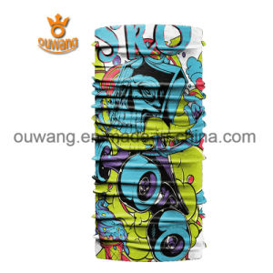 Fashion Promotional Scarf Seamless Tubular Headwear Custom Printed Multifunctional Bandanas as Pirate Hat pictures & photos