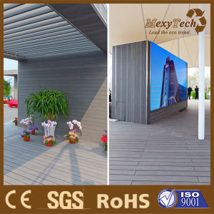 Exterior Decorative Materials Synthetic WPC Wall Cladding Outdoor pictures & photos