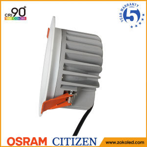 Energy Saving 60W Osram COB LED Down Light Indoor Lighting with 5 Years Warranty pictures & photos