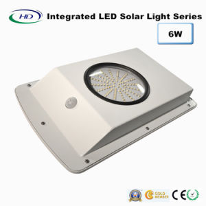 6W Integrated PIR Sensor LED Solar Garden Light pictures & photos