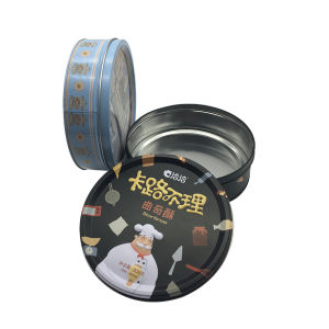 Cookie Cake Tin Hot Sale Biscuit Tin Packaging pictures & photos