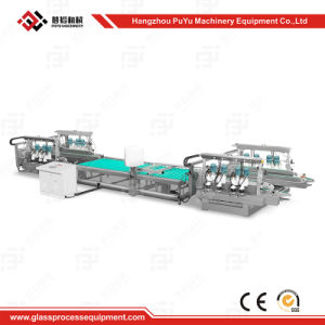 Glass Straight-Line Round Edging Machine for Solar Cell Glass pictures & photos