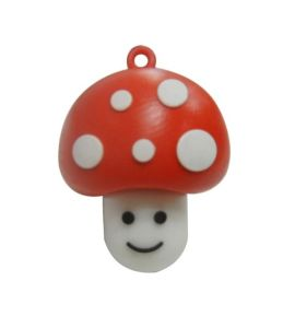 Customized Mushroom USB Flash Drive PVC USB Stick pictures & photos
