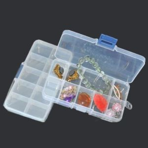 Adjustable Storage Box Plastic Case Home Organizer Jewelry Beads Boxes pictures & photos