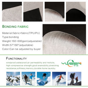 Hot Selling 100%Polyester Jersey Fabric Bonded Cationic Fabric pictures & photos